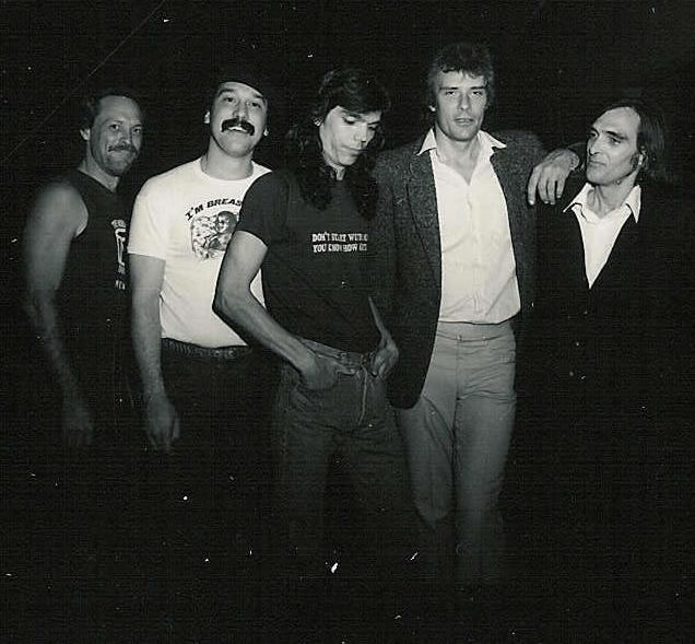 Greg Elmore, Bobby Vega, Les Lizama, Greg Douglass, John Cipollina